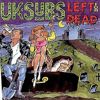 Uk Subs - Left for Dead [CD] USA import