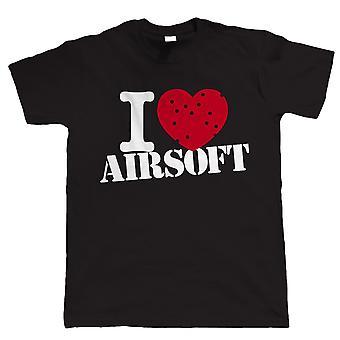 Ich liebe Airsoft, Mens TShirt
