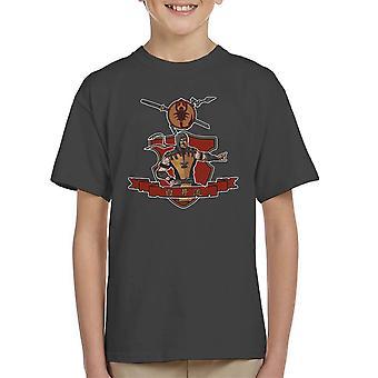 Shirai Ryu Mortal Kombat Kid's T-Shirt