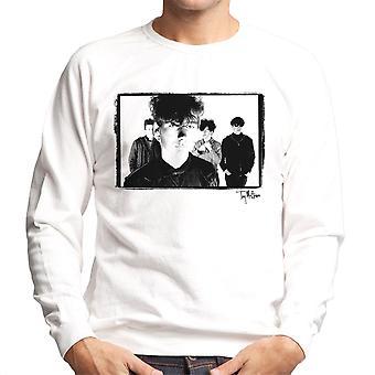 Jesus And Mary Chain Band Shot Jim Reid Close Up Men's Sweatshirt