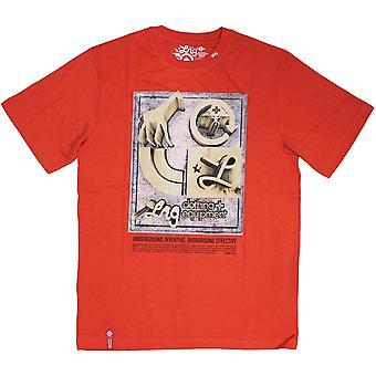 LRG Core Collection sju T-shirt röd Ljung