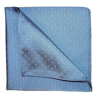 Tyler and Tyler Spots Pocket Square - Blue/White