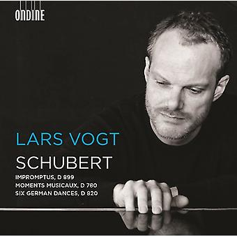 Schubert / Vogt - Schubert: Impromptus D 899 / Moments Musicaux [CD] USA import