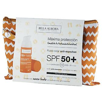 Bella Aurora Solar Anti-Blemish fluid SPF 50 + 3 Pieces