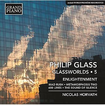Glas / Horvath - glas: Piano værker vol. 5 [CD] USA import
