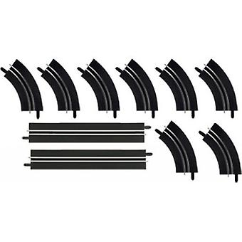 Carrera Straight A Rail Kit 4 + 8 Curves A Rail