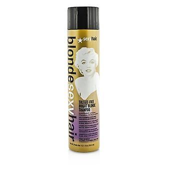 Sexy Hair Concepts Blonde Sexy Hair Sulfate-Free Bright Blonde Shampoo (For Blonde, Highlighted and Silver Hair) 300ml/10.1oz