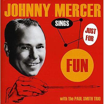 Johnny Mercer - synger bare for sjov [CD] USA import