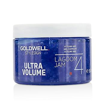 Goldwell estilo sinal Ultra Volume Lagoom Jam 4 Styling Gel - 150ml/5oz