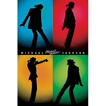Michael Jackson - Silhouettes Poster Poster Print