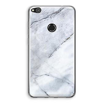 Huawei Ascend P8 Lite (2017) Transparant Case - Marble white