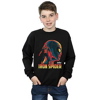 Marvel Boys Avengers Infinity War Iron Spider Character Sweatshirt