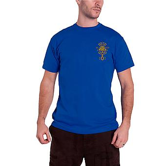 Neck Deep T Shirt Sink Or Swim band logo new Official Mens Blue