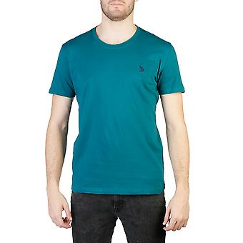 U.S. Polo Men T-shirts Green
