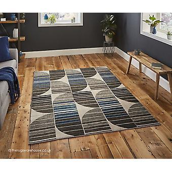 Ferla grau blau Teppich