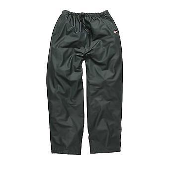 DICKIES Mens Raintite vêtements de travail pantalons vert WP51000G