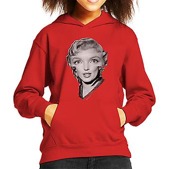 Marilyn Monroe The Prince And The Showgirl 1956 Kid's Hooded Sweatshirt