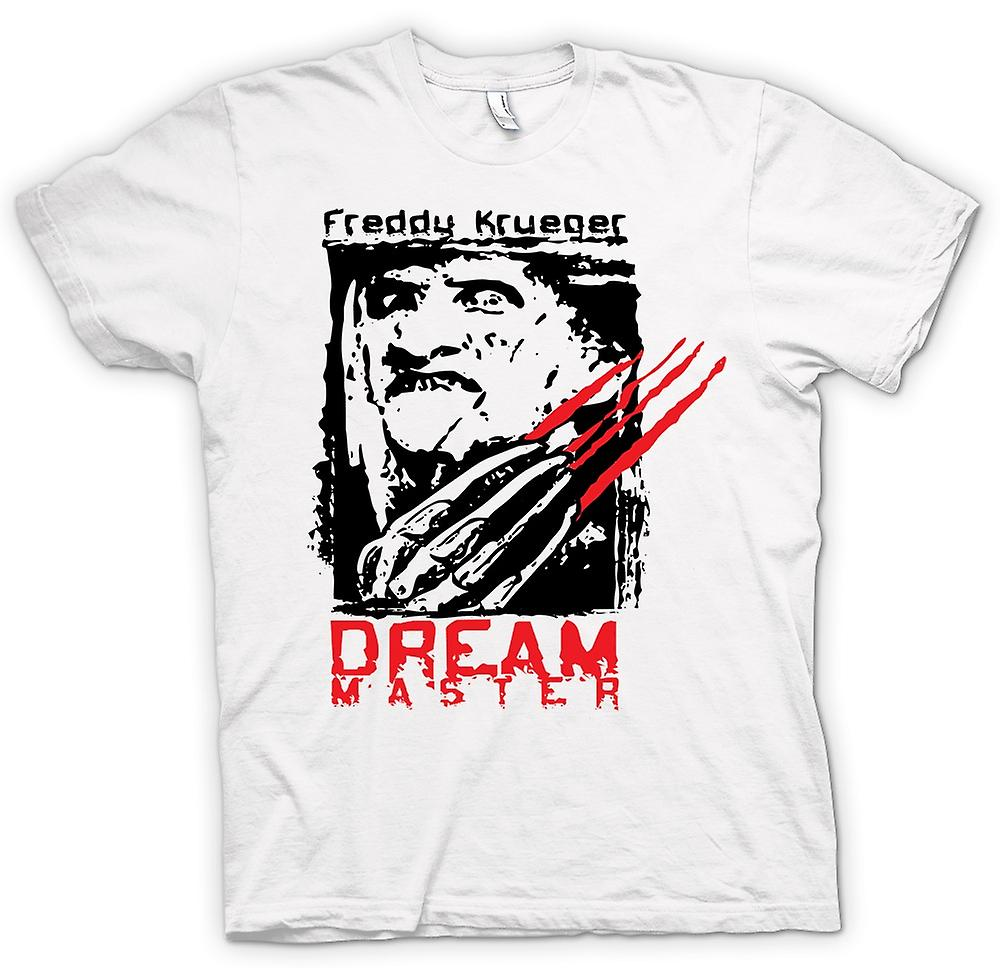 Herr T-shirt - Freddy Krueger Dream Master - skräck