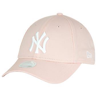 ニューエラ 9Forty レディース キャップ - ニューヨーク ・ ヤンキースの明るいピンク