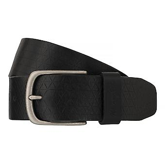 WRANGLER belt leather belts men's belts black 6524