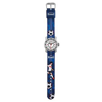 Scout kids learning watch of action boys - football young 280376004