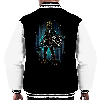 Legend Of Zelda Shadow Of The Wild Men's Varsity Jacket