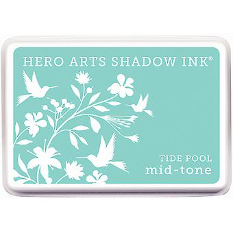 Hero Arts Midtone Shadow Ink Pad-Tide Pool