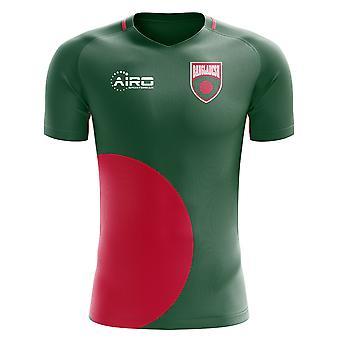 2018-2019 Bangladesch Wohnkonzept Fußballtrikot (Kids)