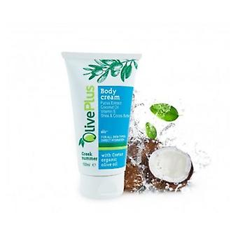 Body cream Greek summer with coconut and Shea-cacao butter 150ml.
