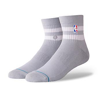 Position NBA Hoven Qtr chaussettes - gris