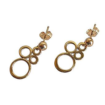 Bronze earrings earrings gold earrings gold plated