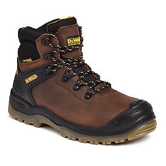 DEWALT Newark brązowy wycieczkowicz wodoodporne buty