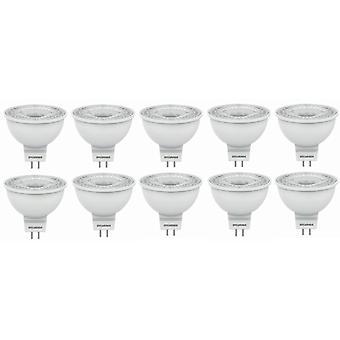 10 X Sylvania RefLED MR16 V3 GU5.3 5W LED Tageslicht 345lm [Energieeffizienzklasse A +]