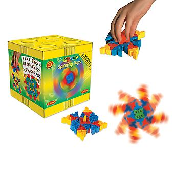 Morphun Spinning Tops Set Construction System Play Learn Children's Kid