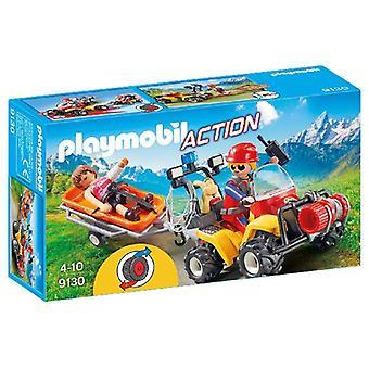 Playmobil 9130 Quad+Draagberr.