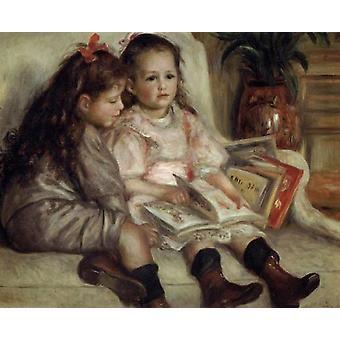 The Children of Martial Caillebotte, Pierre Renoir