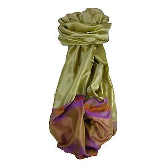 Varanasi Border Prime Silk Long Scarf Heritage Rampersan 411 by Pashmina & Silk