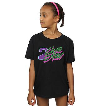 2 Live Crew Girls Neon Logo T-Shirt