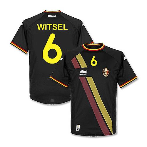 2014-15 België World Cup weg Shirt (Witsel 6) - Kids