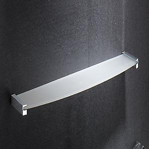Gedy Kent Glass Shelf Chrome 5519 60 13