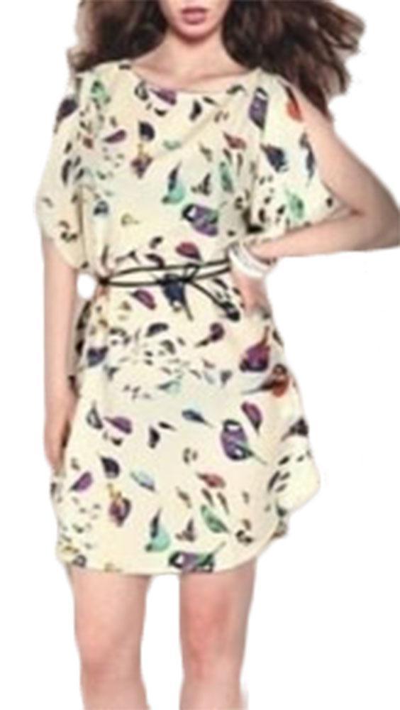 Waooh - Robe motif oiseaux Cean