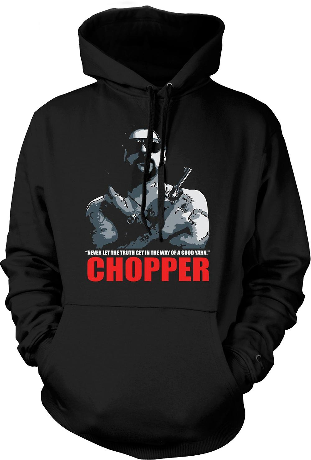 Mens Hoodie - Chopper - Reid goed garen - Movie - Comedy
