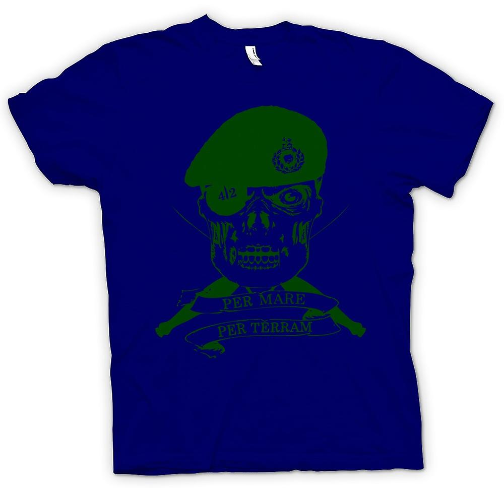 Mens T-shirt - Royal Marines 42 Cdo Motto