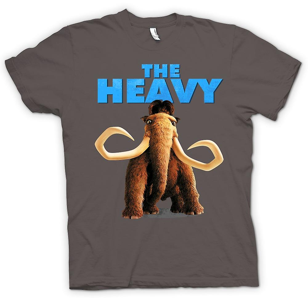 Hommes T-shirt - Ice Age - Manny The Heavy