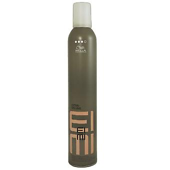 Wella Eimi extra volume styling mousse foam of 500 ml strong hold hair dryer foam top