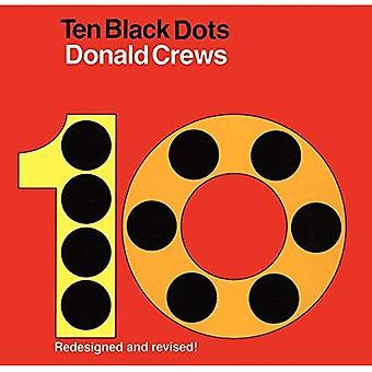 Tien zwarte stippen