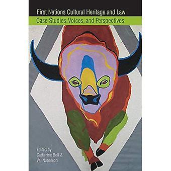 Första nationerna kulturarv och lag: fallstudier, röster och perspektiv