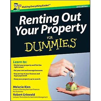 Verhuren van uw woning voor Dummies