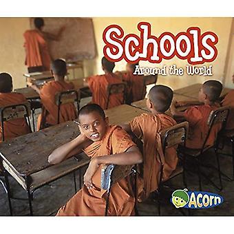 Schools Around the World (Around the World (Heinemann Library))