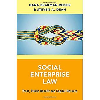 Socialt företagande lag: Förtroende, samhällsnytta och kapitalmarknaderna